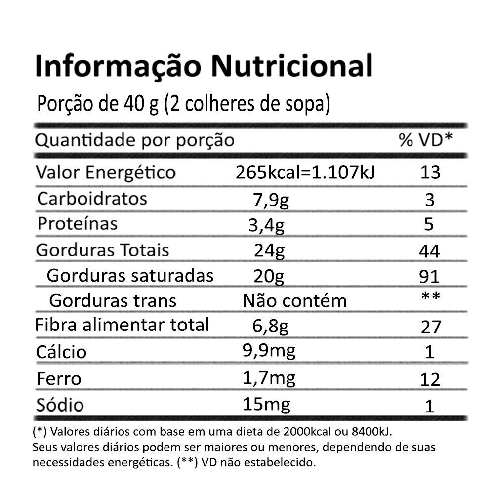 Manteiga de Coco Creme Integral 210g Onveg