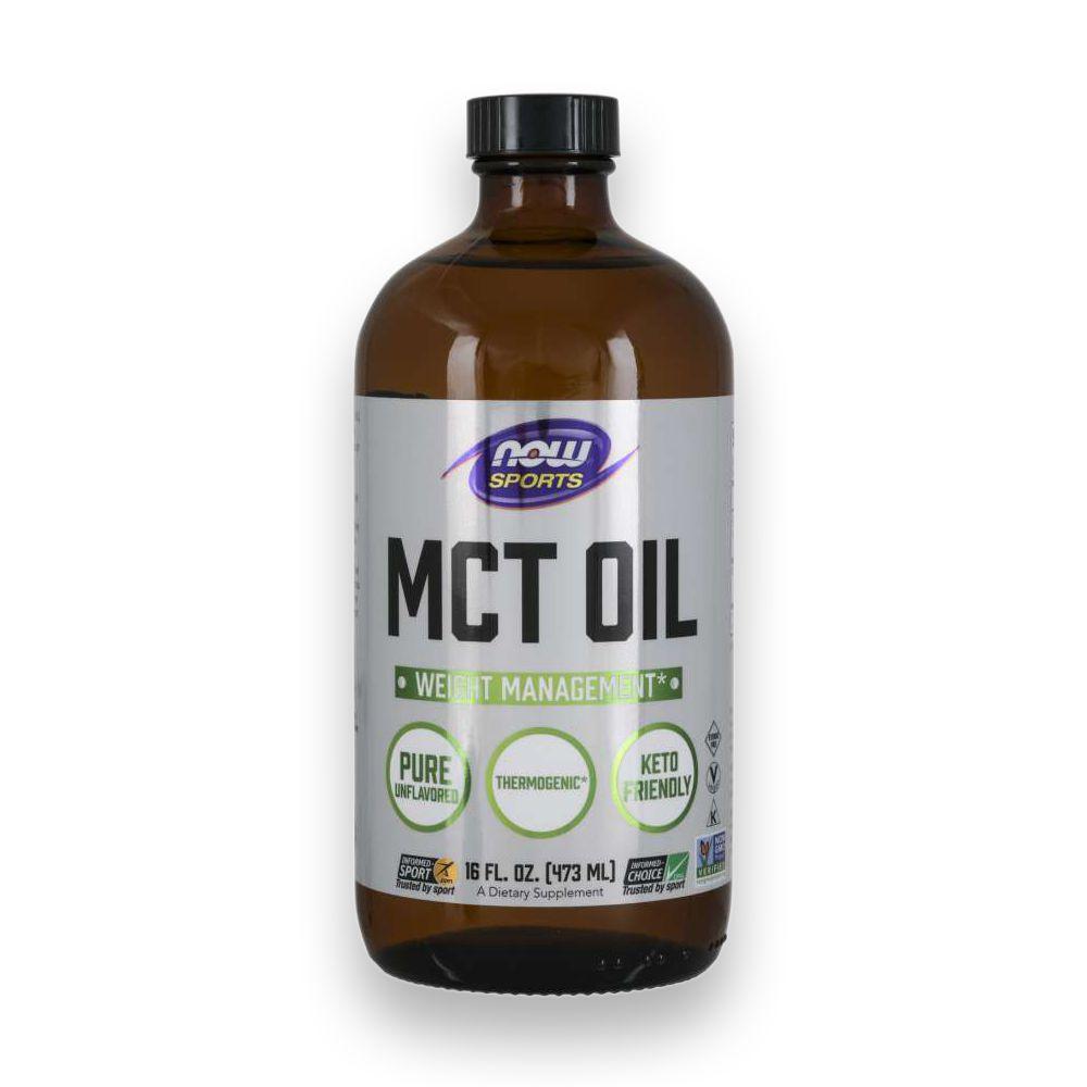 MCT Oil C8 e C10 473ml NOW Sports