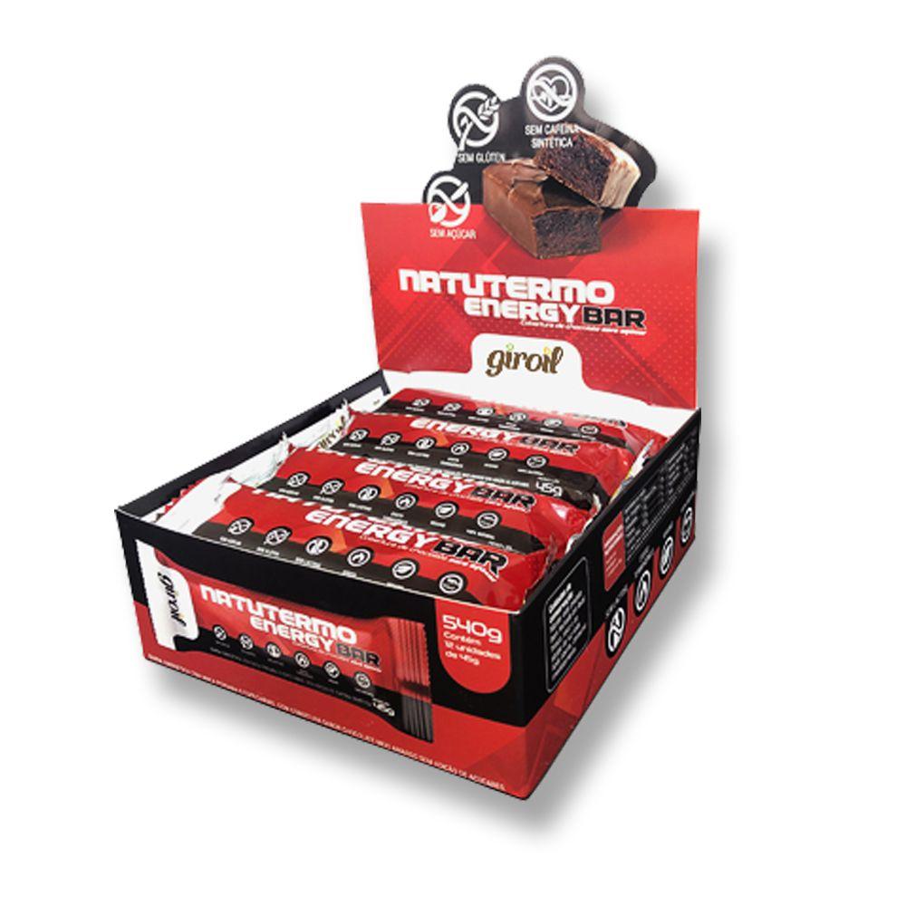 NatuTermo Energy Bar 12un. 540g Giroil