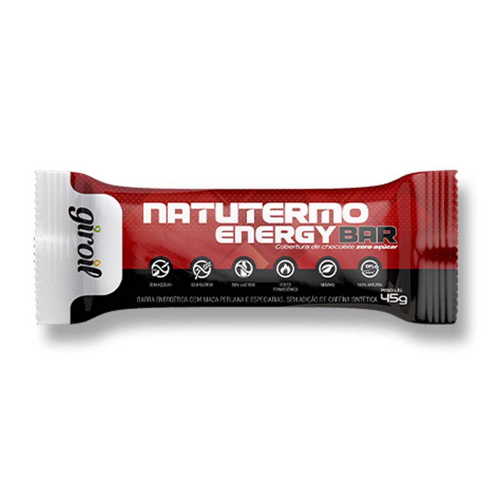Barrinha NatuTermo Energy Bar Termogenico 12x540g Giroil