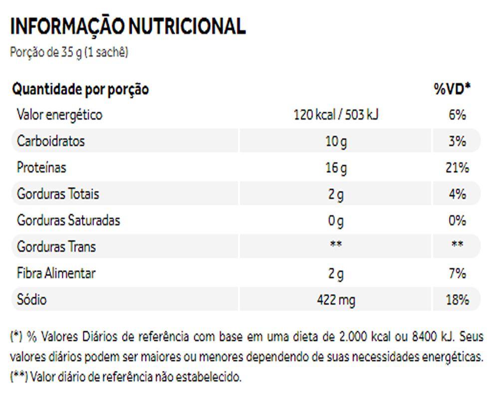 Natural Protein Soup Legumes da Horta 10 Saches de 35g Sopa Proteica - Puravida