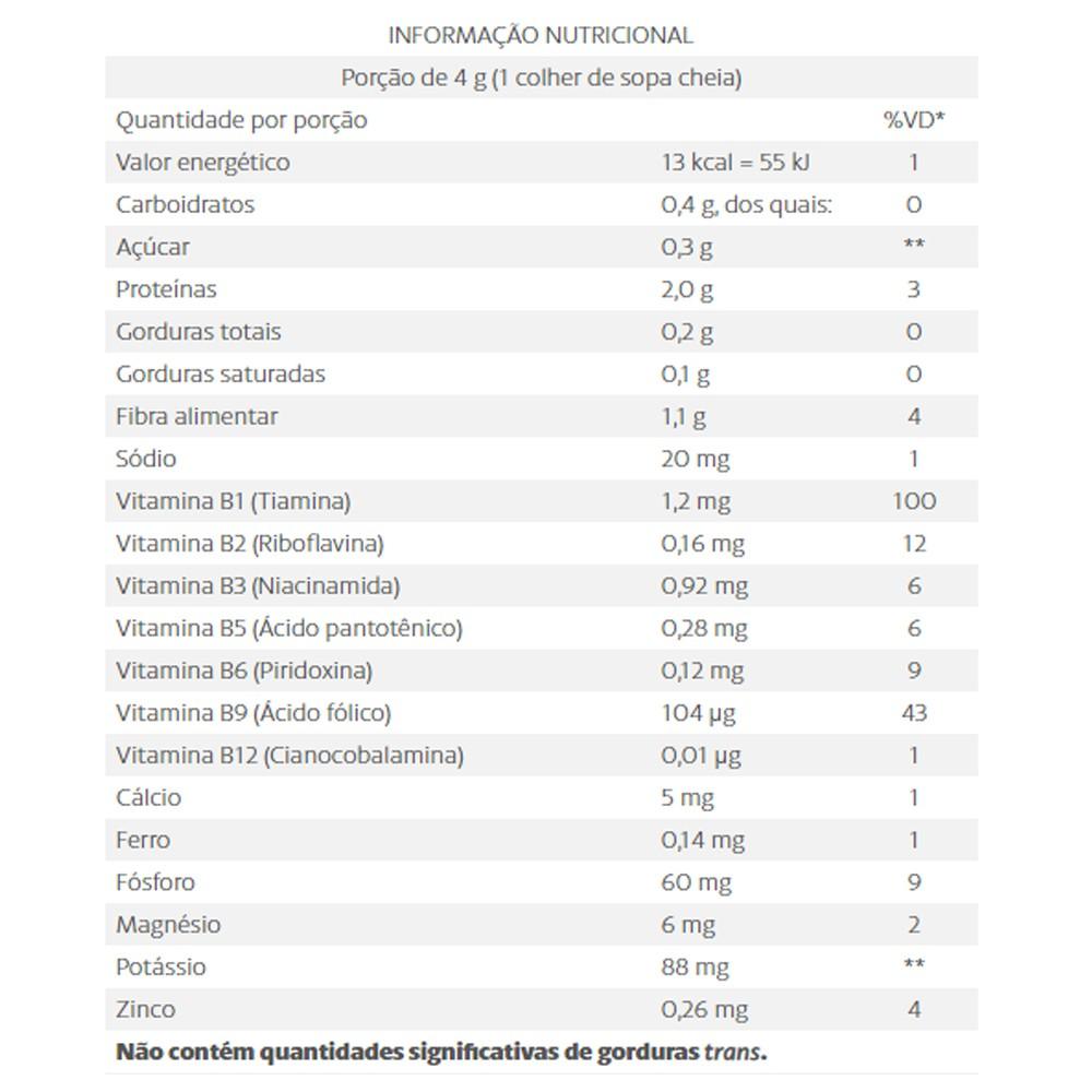 Nutryeast Levedura Nutricional Sem Gluten Vegano 180g Equaliv