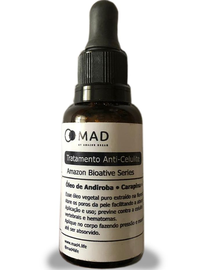 Óleo de Andiroba, Carapina, Ácido Linoleico para Celulite MAD