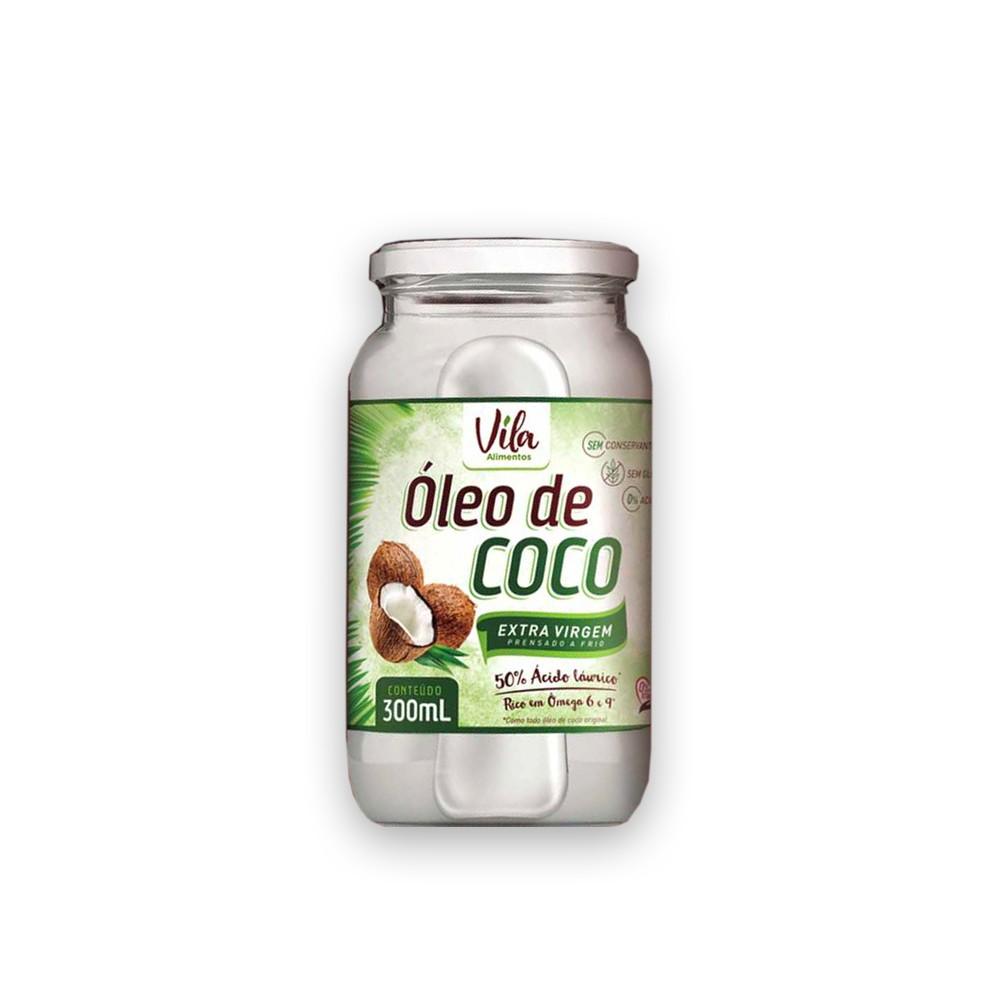 Óleo de Coco Extra Virgem 300ml Vila Alimentos