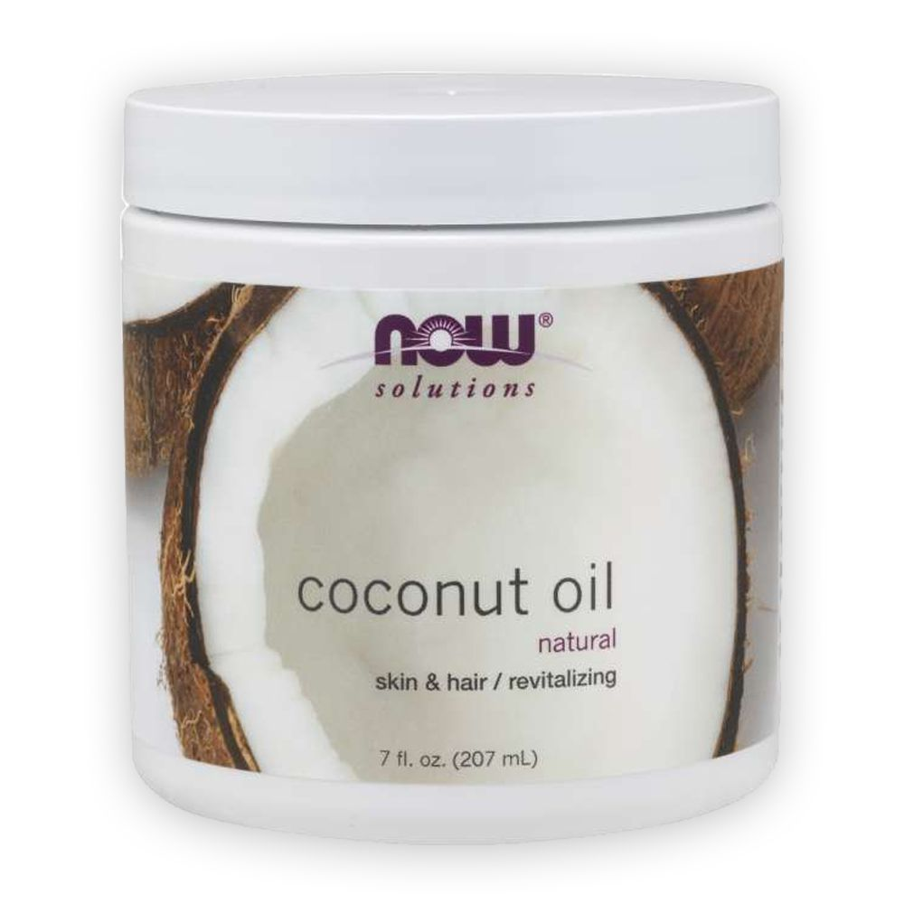Óleo de Coco Natural Coconut Oil 207ml Now