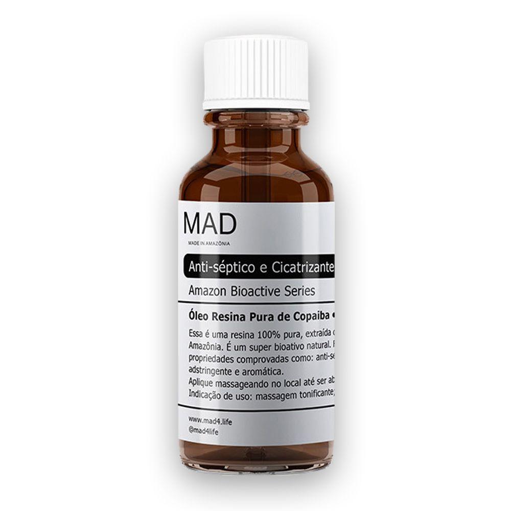 Óleo de Resina Pura Copaíba Premium 30ml MAD