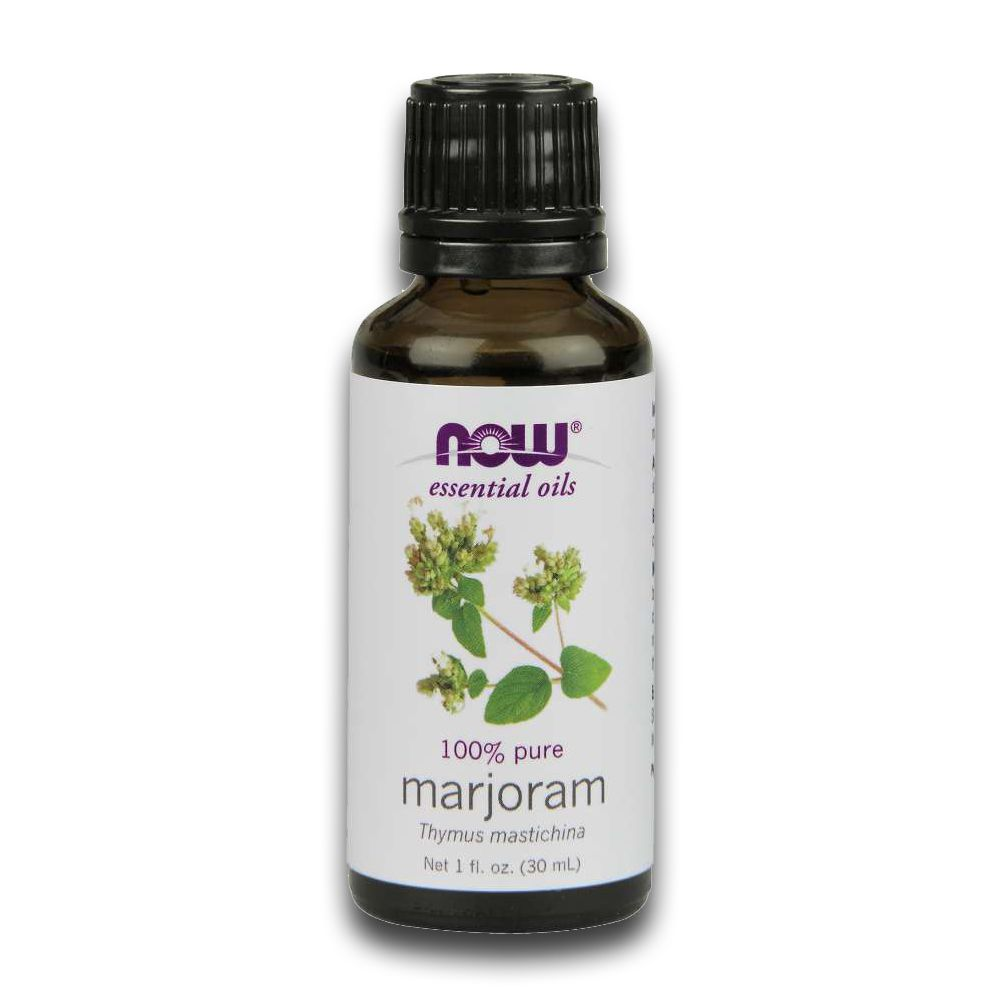 Óleo Essencial de Manjerona Marjoram 30ml NOW