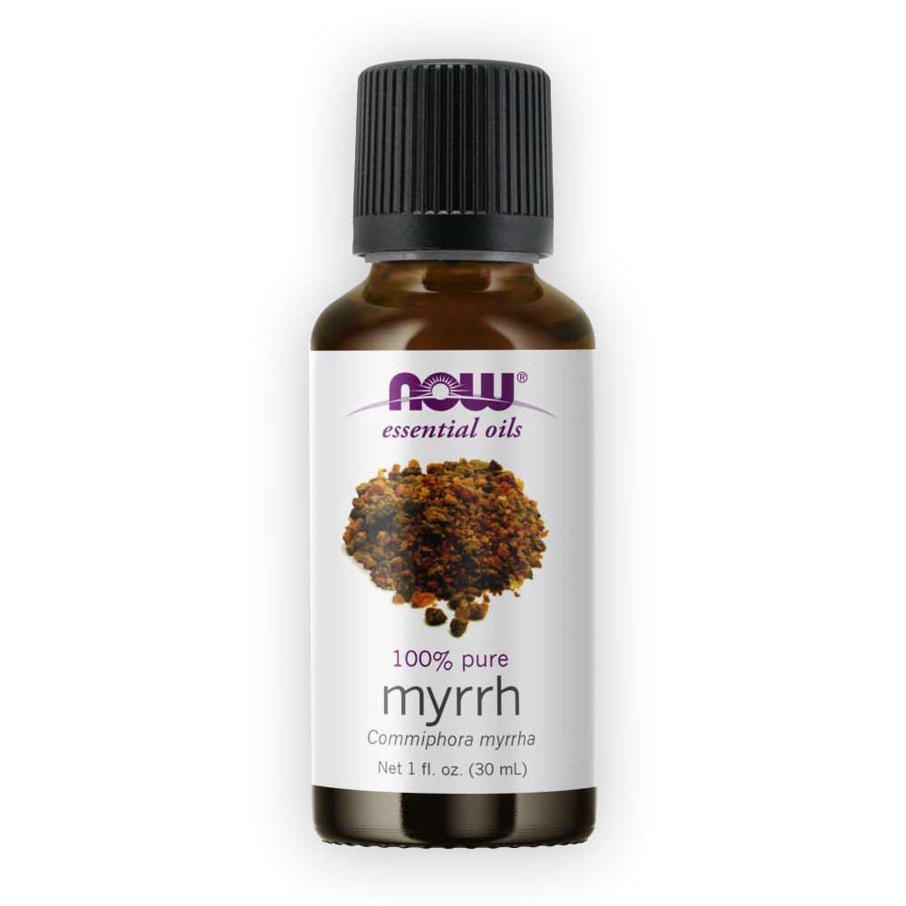 Óleo Essencial de Mirra Myrrh 30ml NOW