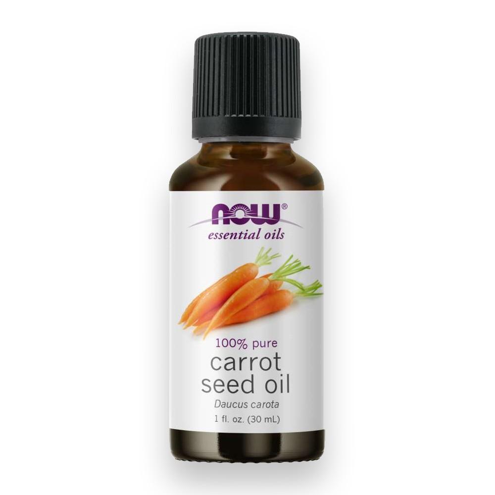 Óleo Essencial de Semente de Cenoura Carrot Seed 30ml NOW