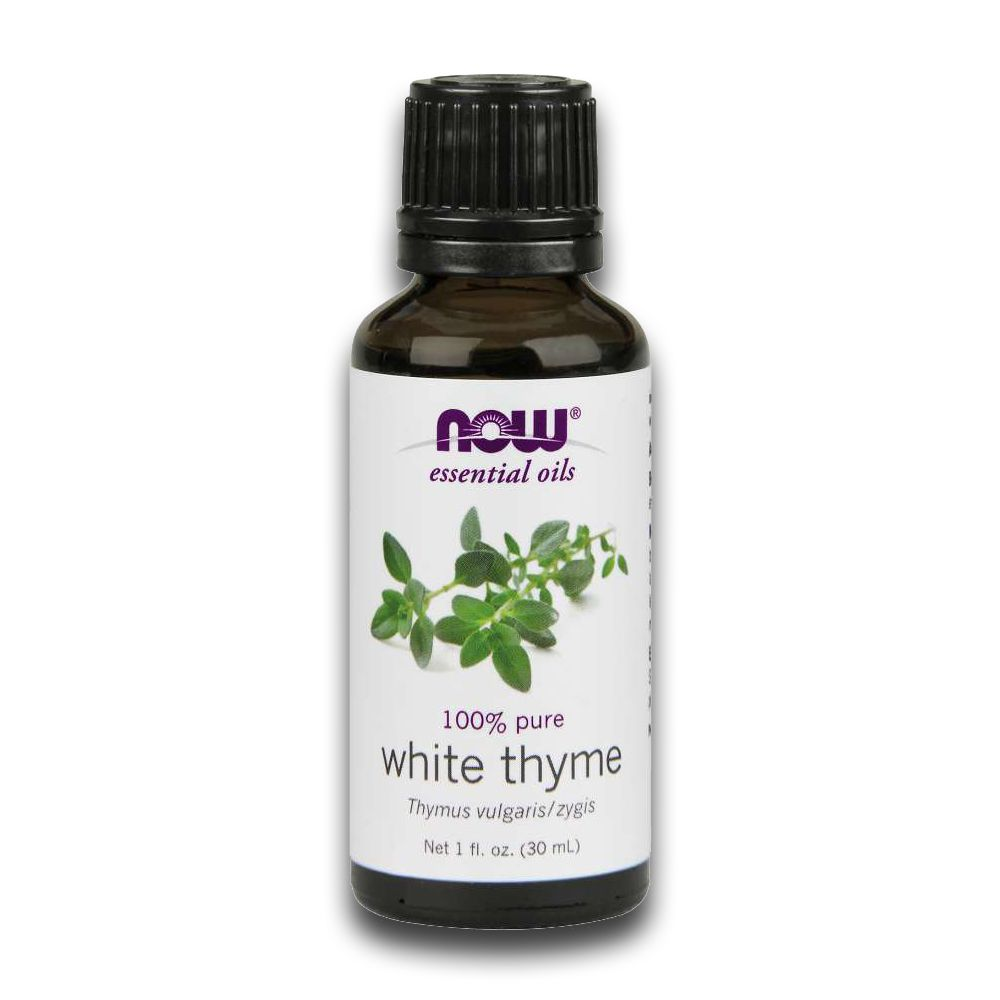 Óleo Essencial de Tomilho Branco White Thyme 30ml NOW