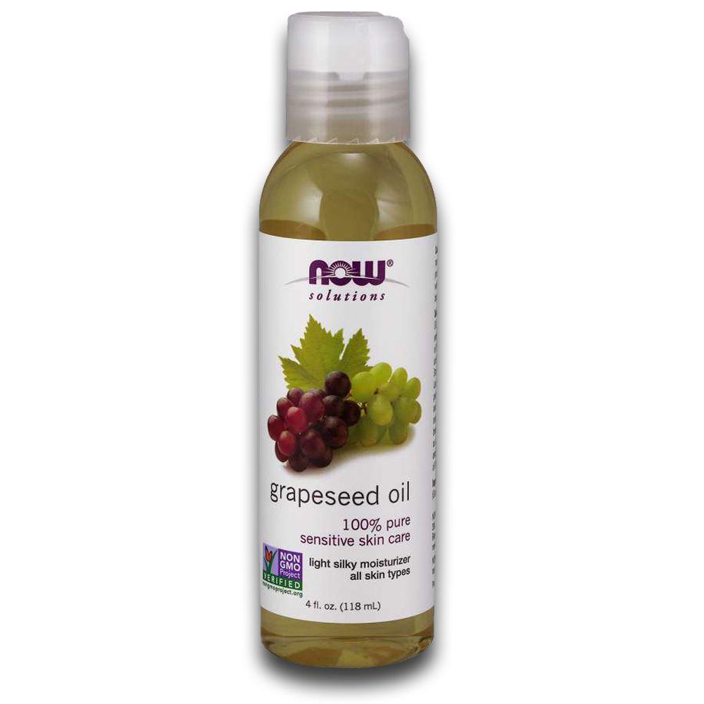 Óleo Hidratante de Sementes de Uva Grapeseed 118ml NOW