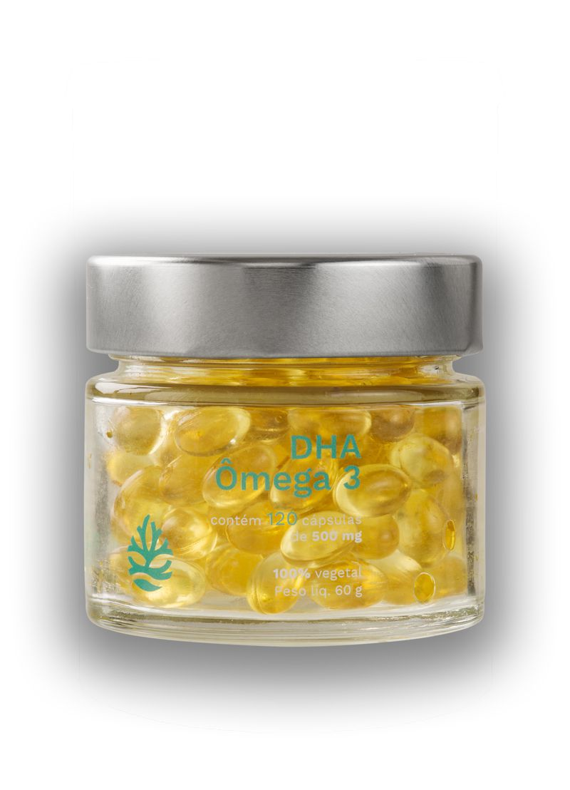 Omega 3 DHA Vegano 120 cápsulas - Ocean Drop