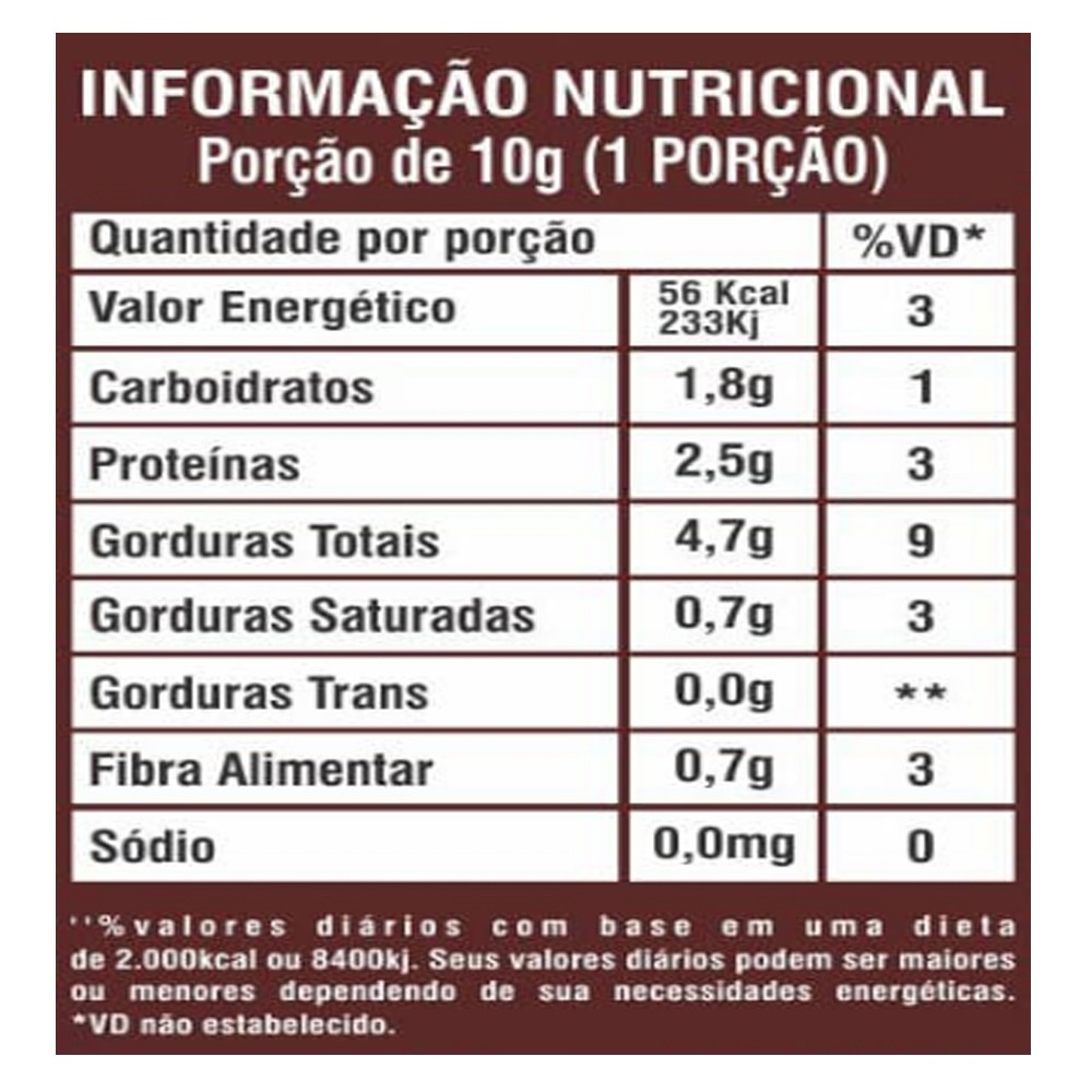 Pasta de Amendoim Integral Gourmet Avelã 450g La Ganexa