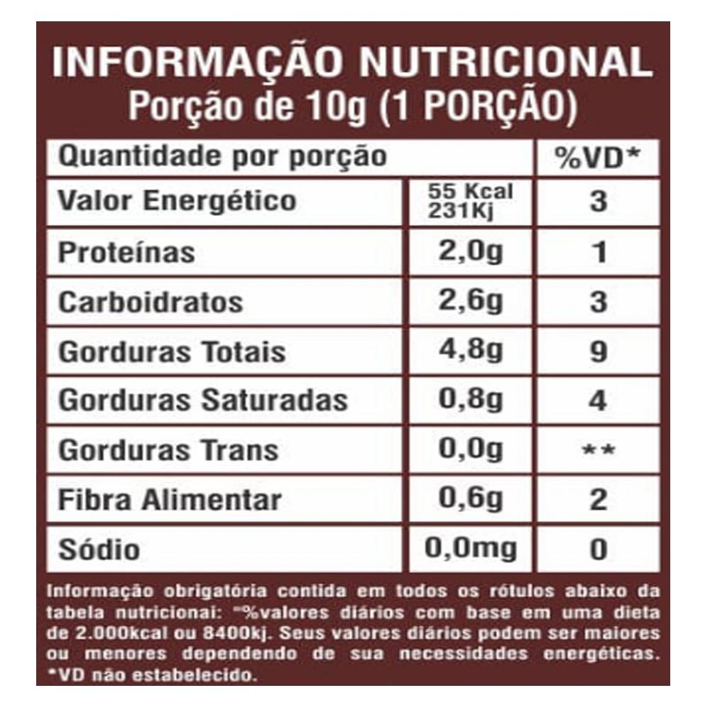 Pasta de Amendoim Integral Gourmet Chocolate Branco Crocante 1kg La Ganexa