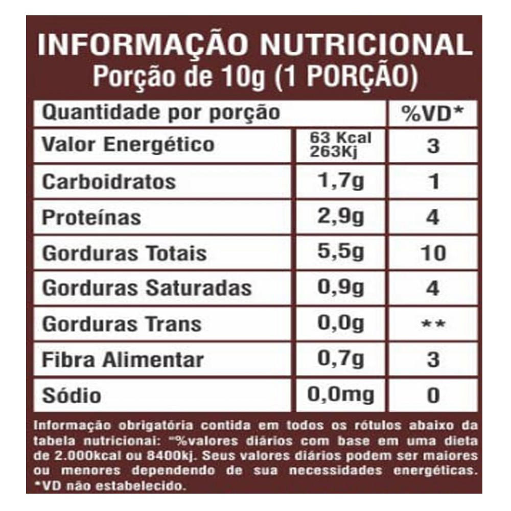 Pasta de Amendoim Integral Gourmet Crocante 1kg La Ganexa