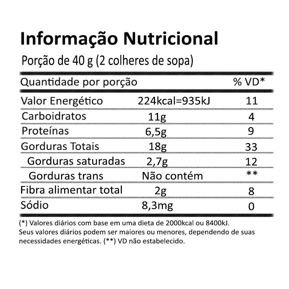 Pasta de Avelã Sem Gluten 210g Onveg