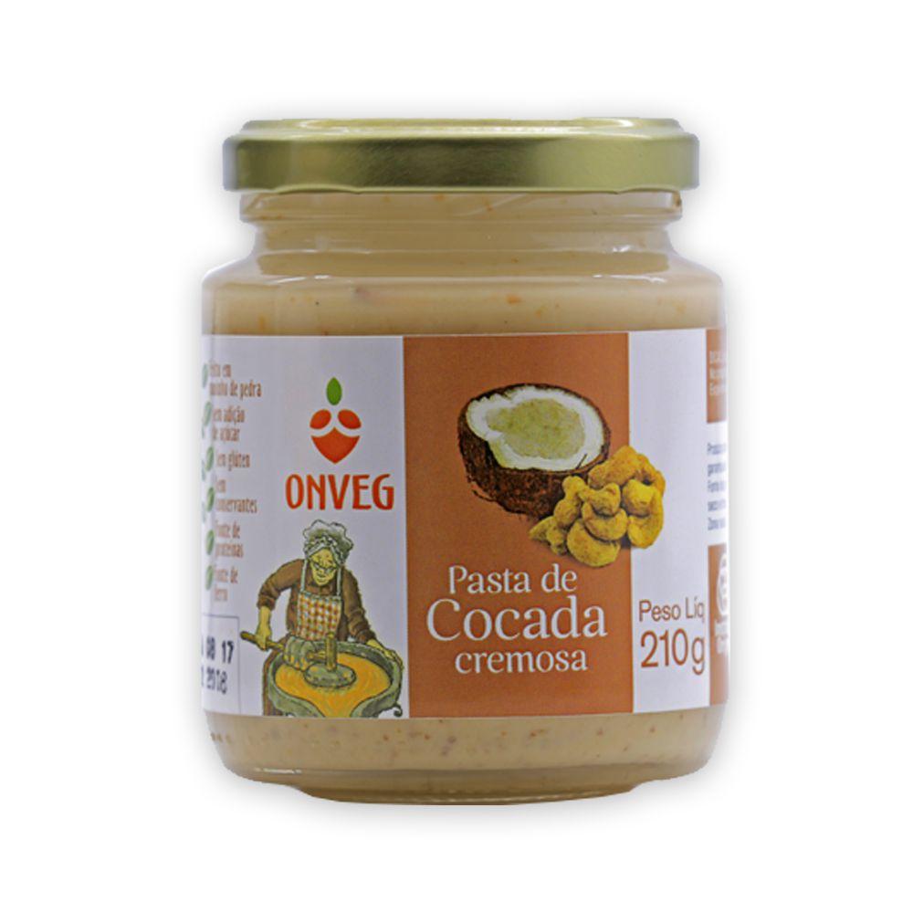 Pasta de Cocada Cremosa 210g Onveg
