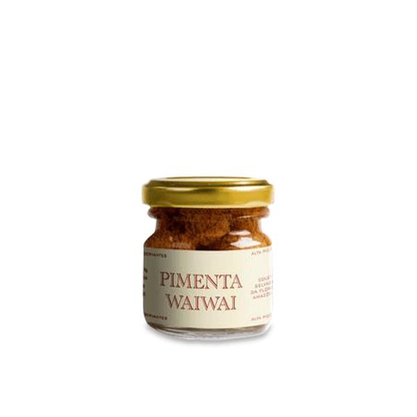 Pimenta Wai-Wai Mix de Pimentas Indígenas 20g MAD