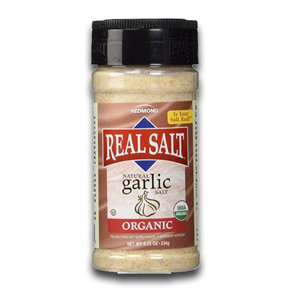 Sal Integral Alho Orgânico Garlic 135g Real Salt