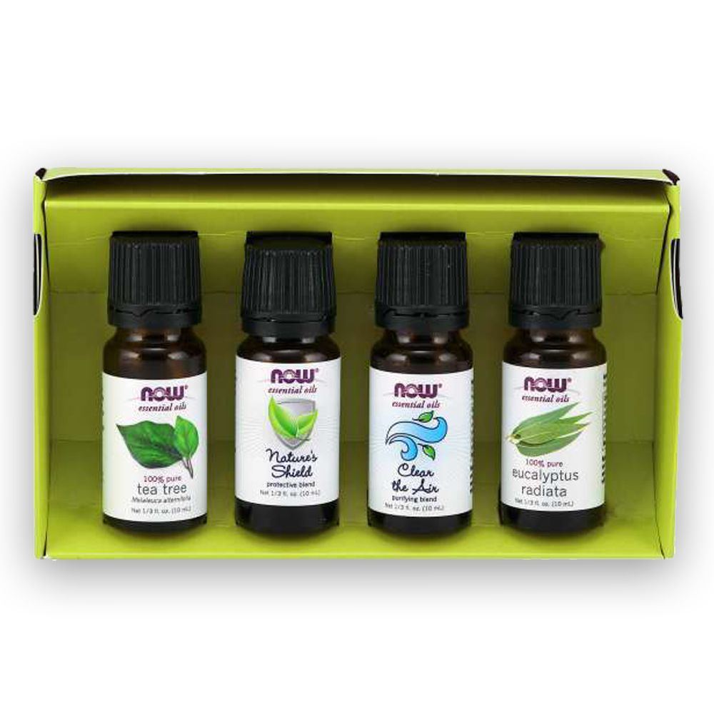 Seasonal Changes Kit de Óleo Essencial 40ml NOW
