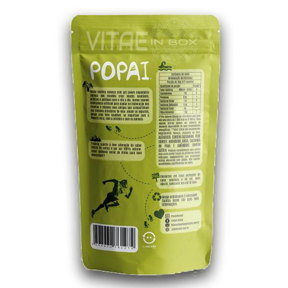 Snack RAW sabor Castanha do Baru 60g - Popai - Alimento Cru