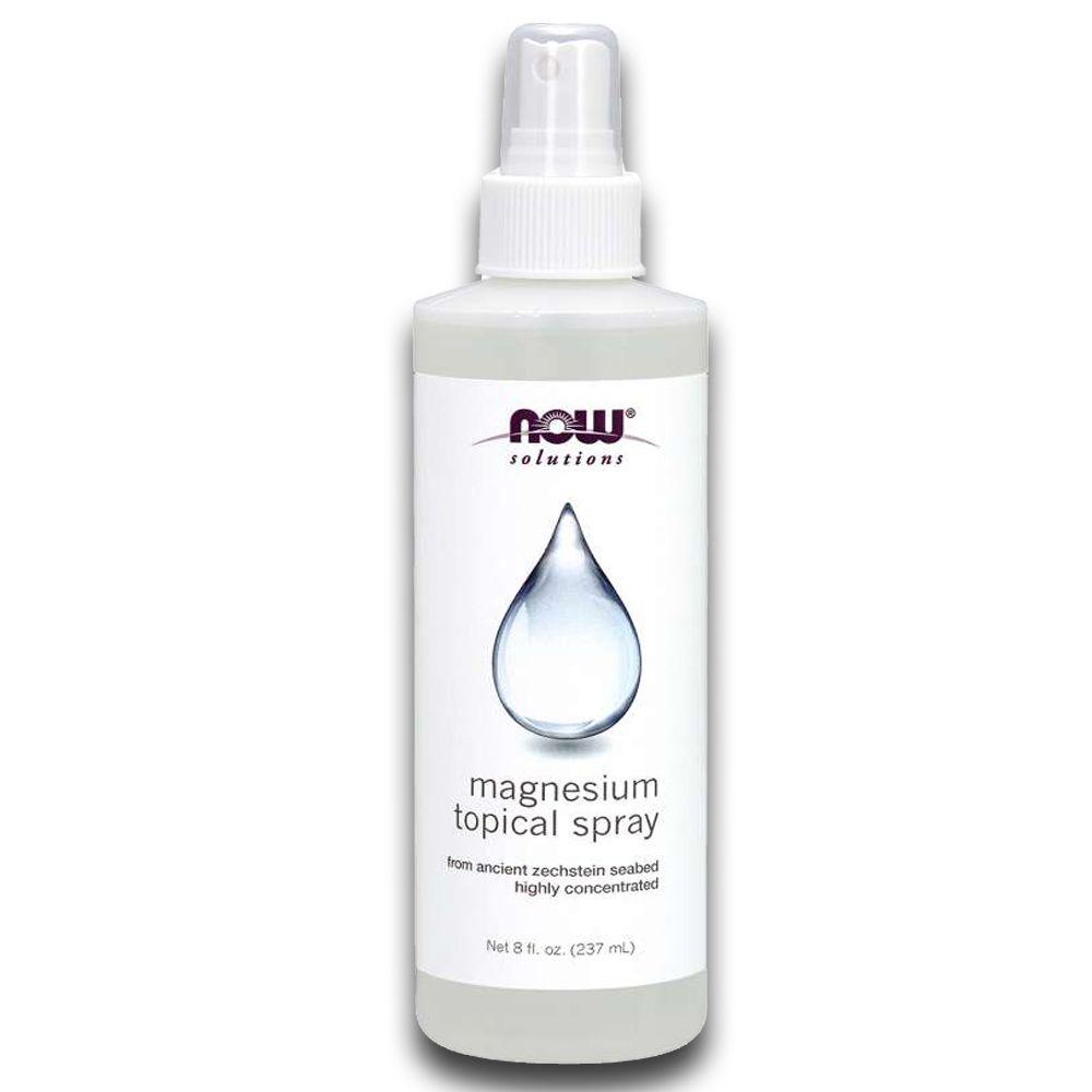 Spray de Magnésio Tópico Magnesium 237ml NOW