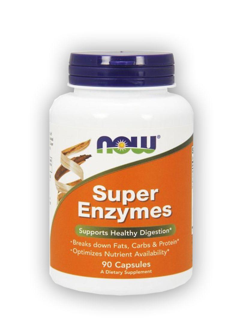 Super Enzimas Digestivas 90 tabletes - NOW