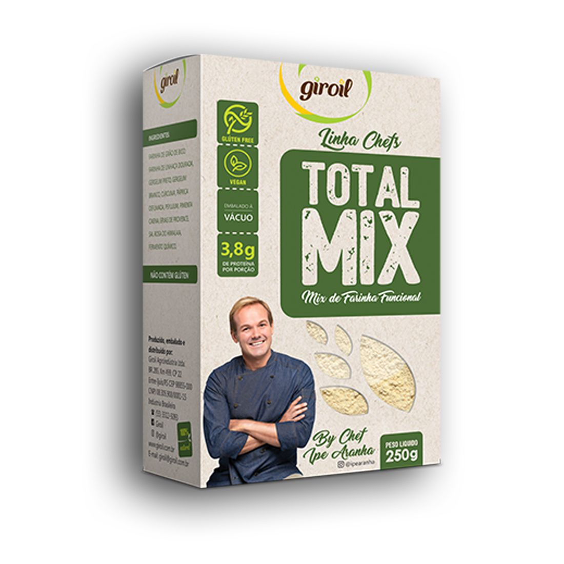 Total Mix de Farinha Funcional 250g - Giroil