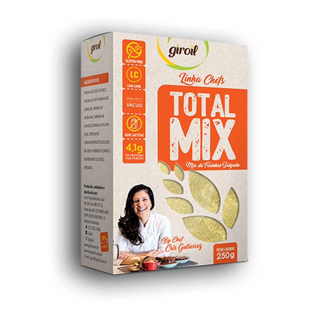 Total Mix de Farinhas Salgado 250g - Giroil