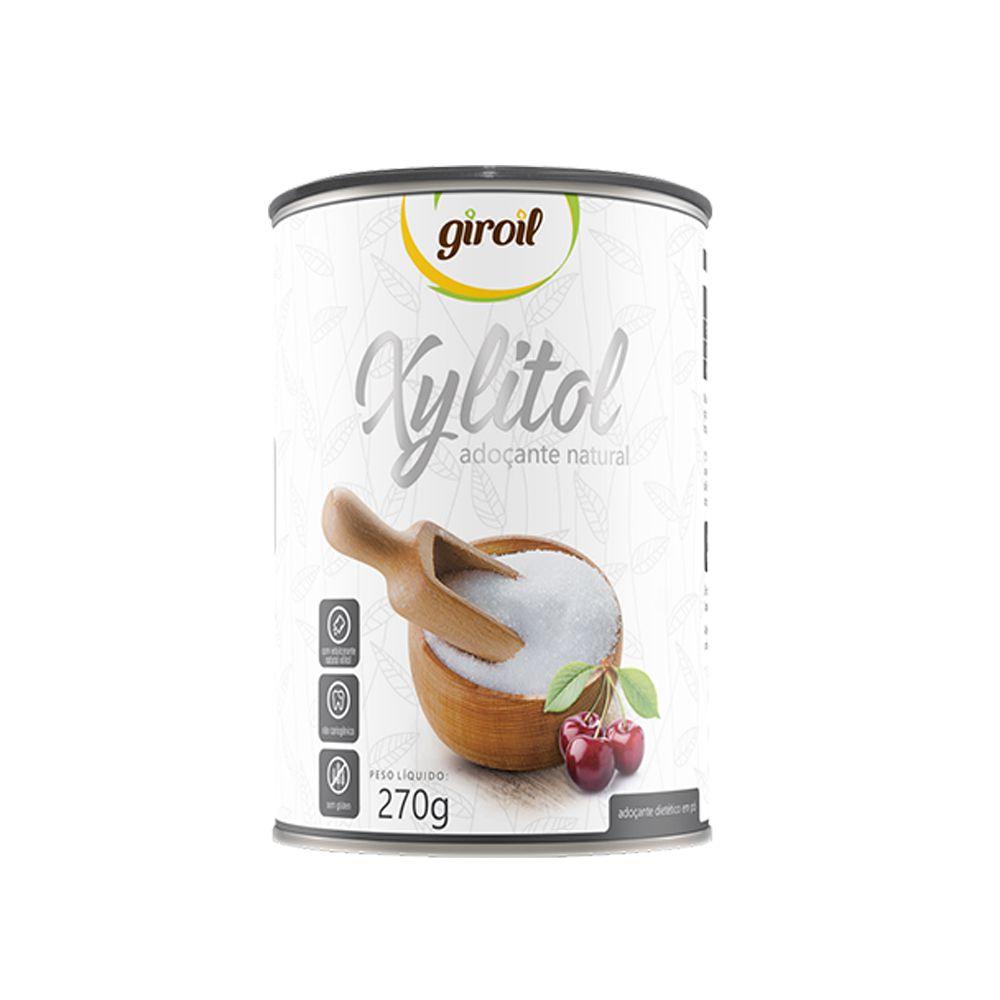 Xylitol Adoçante Natural 270g Giroil