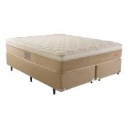 CAMA BOX MADEIRA NEW PLATINUM 1,58 C/MOLAS ENSACADAS
