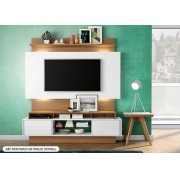 HOME THEATER 1,80 C/02 PTS CORRER C/LED TB 112 OFF WHITE/FREIJO