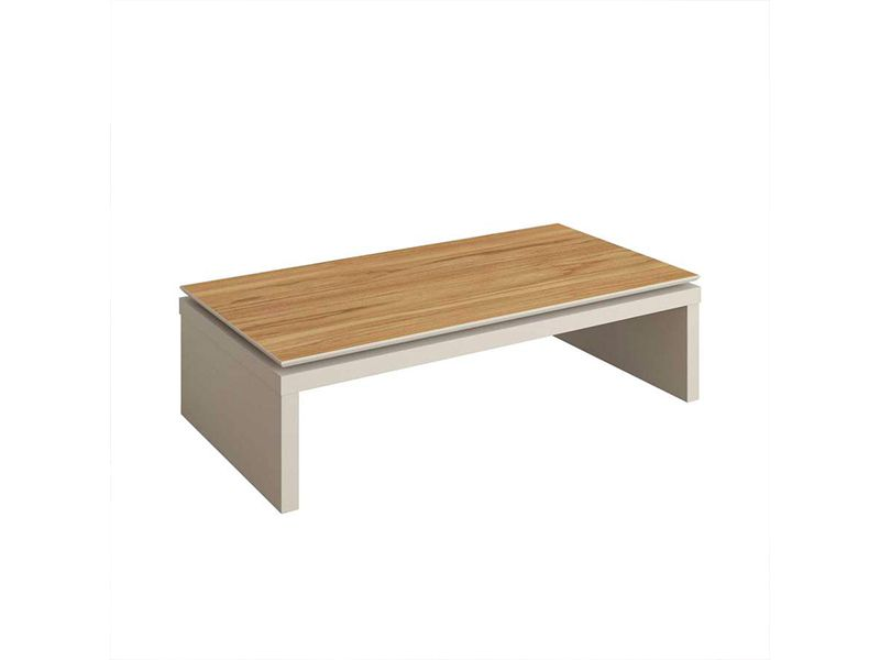 MESA DE CENTRO LINCOLN  PAD OFF WHITE/NATURAL