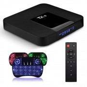 Box Android 10 - Smartv - Tv 4k - 32gb E 4gb Ram