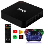 Box Android 8.1 Smartv  - Tv 4K  - 16gb e 3gb Ram + Controle