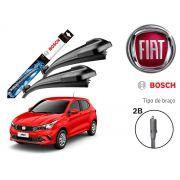 Jogo Palheta Dianteira Bosch Fiat Argo 2017 a 2019