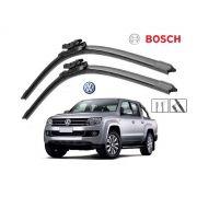 Jogo Palheta Dianteira Bosch VW Amarok 2013 a 2018