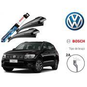 Jogo Palheta Dianteira Bosch VW Tiguan 2009 Até 2019