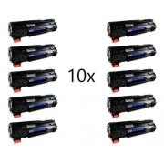 KIT 10 Toner Compatível CE285A CB435A CB436A UNIVERSAL 85A | P1005 P1505 M1120 M1212 M1130 P1102w 1102w 1102