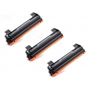 KIT 3 TONER COMPATÍVEL COM BROTHER TN1060 | DCP1602 DCP1512 DCP1617NW HL1112 HL1202 HL1212W