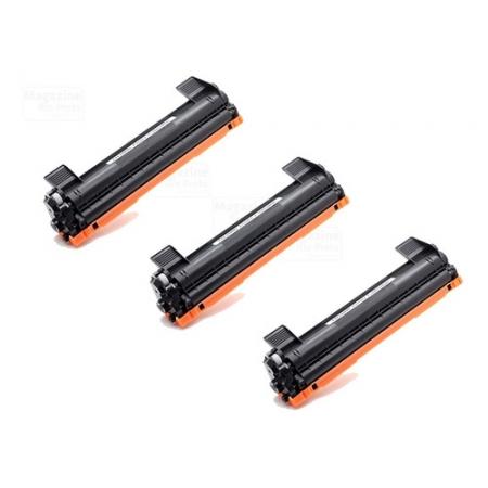 Kit 3 Toner Compatível TN1060 1060 | DCP1602 DCP1512 DCP1617NW HL1112 HL1202 HL1212W
