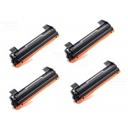 KIT 4 TONER COMPATÍVEL COM BROTHER TN1060 | DCP1602 DCP1512 DCP1617NW HL1112 HL1202 HL1212W