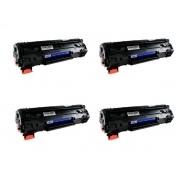 KIT 4 Toner Compatível Marca Premium Para Uso Em P1102w 1102w 1102