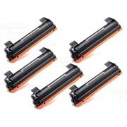 Kit 5 Toner Compatível TN1060 1060 | DCP1602 DCP1512 DCP1617NW HL1112 HL1202 HL1212W