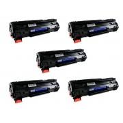 KIT 5 Toner Compatível Marca Premium Para Uso Em P1102w 1102w 1102