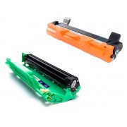 KIT TONER COMPATÍVEL COM BROTHER TN1060 E FOTOCONDUTOR DR1060 DCP1602 DCP1512 DCP1617NW HL1112 HL1202 HL1212W
