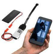 Micro Câmera Espiã Mini Ip Wifi A-HD