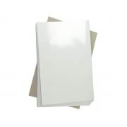 Papel Foto Adesivo Matte Fosco 108G A4 Branco Resistente À Água / 20 Folhas