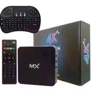 Smartv Tv Box 16gb E 3gb Ram Android 8.1 -4k + Controle