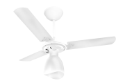 Ventilador 3 Pás Branco Corpo Branco 110/127V